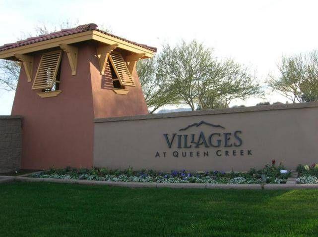 Arizona Golf Community Villages At Queen Creek Homes