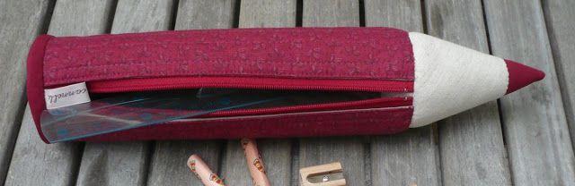 Eu Amo Artesanato: Porta lápis PATTERN