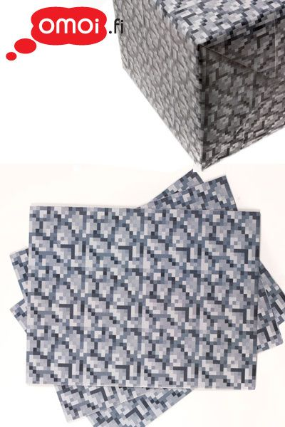 Minecraft Cobblestone Wrapping Papper - 6,50EUR : Manga Shop for Europe, A great selection of anime products
