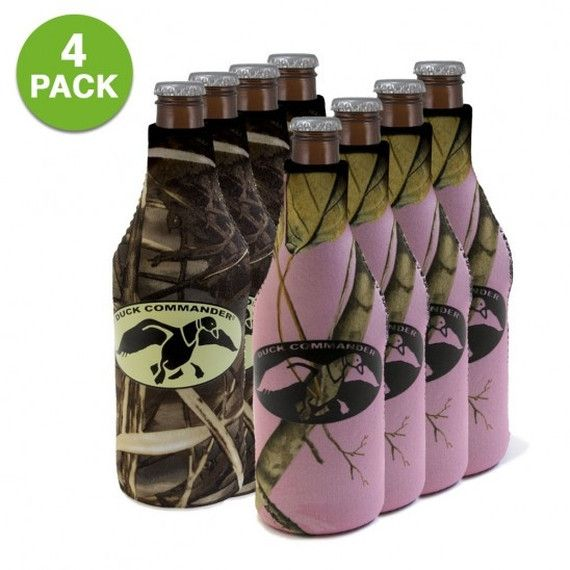 4-Pack: Duck Commander® Insulated Bottle Sleeve