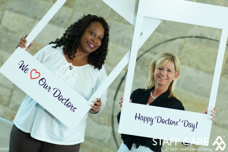 Happy Doctors' Day! We love our doctors!