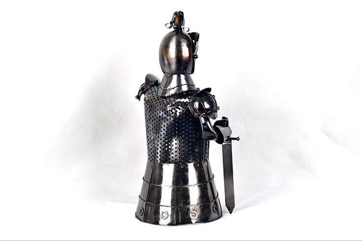 Knight Armour Wine Holder