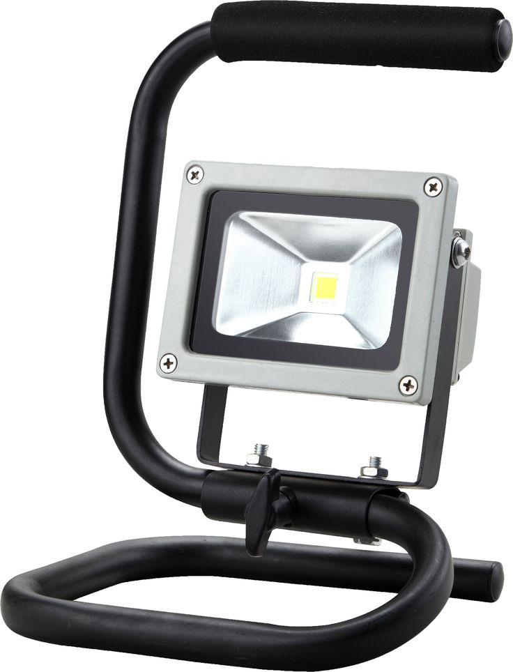 Projecteur 1 led 10w portable sur pied led for Projecteur exterieur sur pied