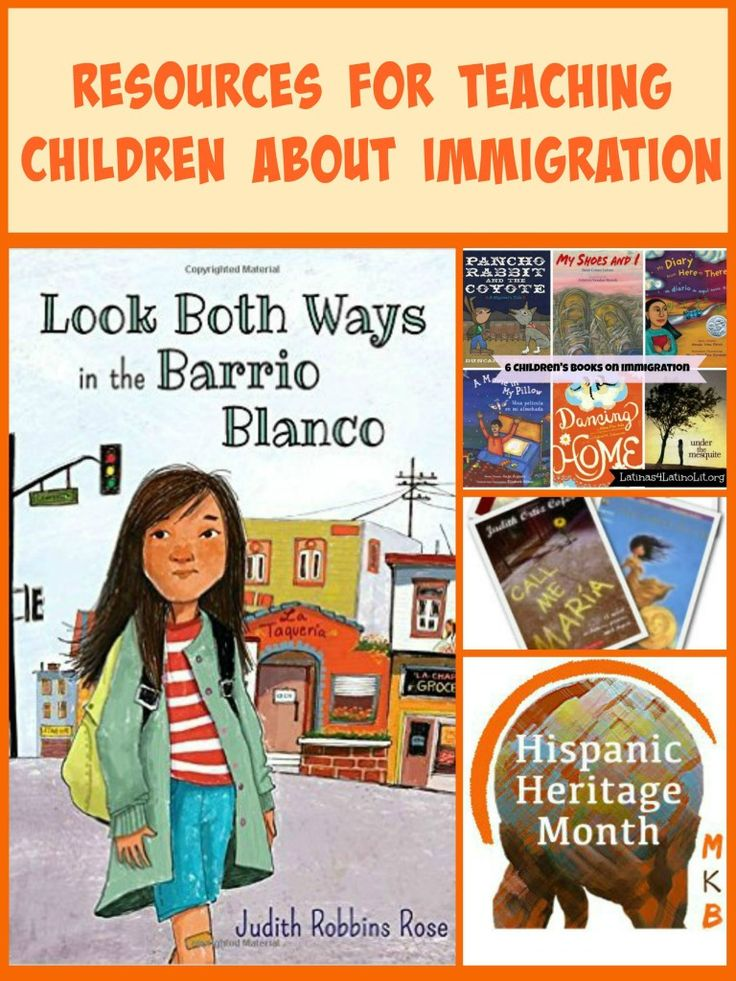 A collection of resources for teaching children Hispanic heritage and immigration.