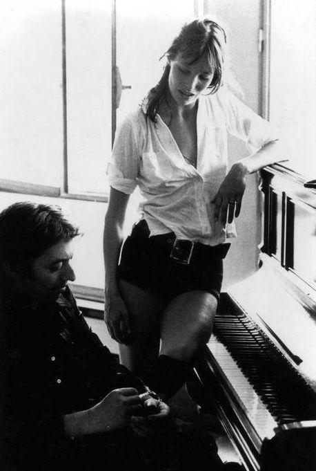Serge Gainsbourg and Jane Birkin / photos by Giancarlo Botti