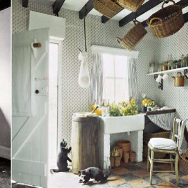 Welsh Cottage Kitchen Designed By Laura Ashley Circa 1986