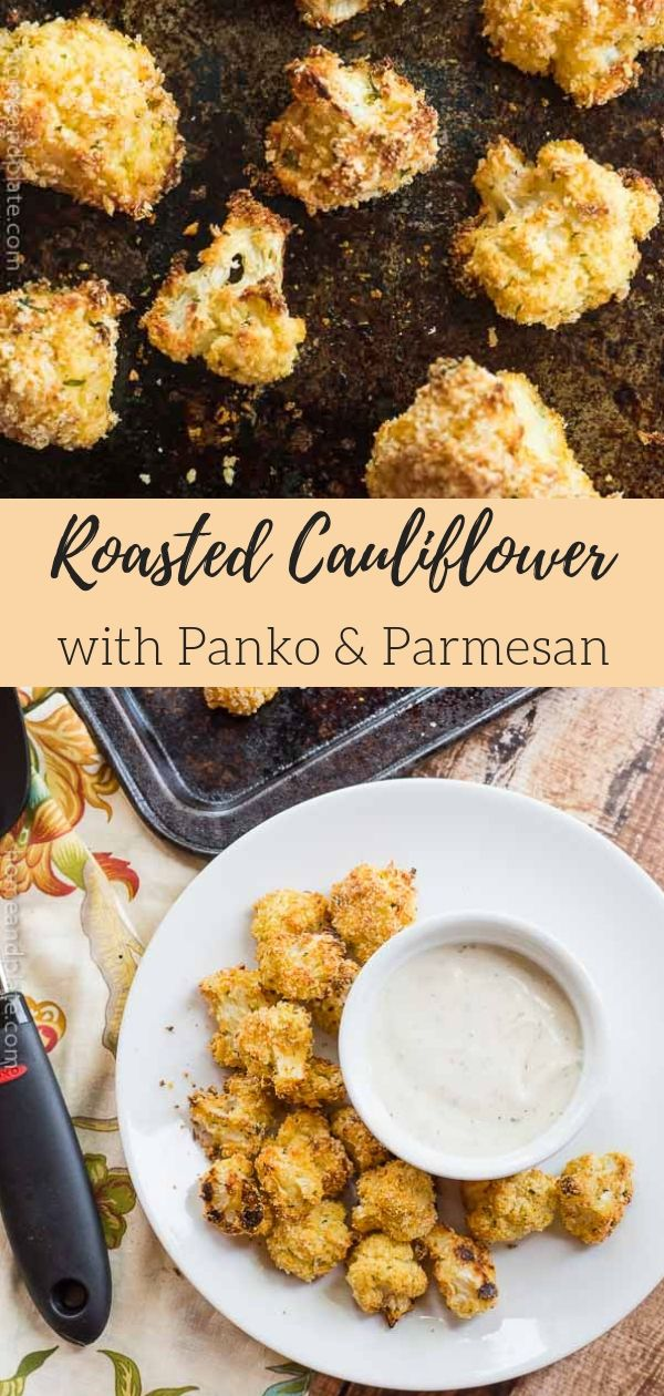 Roasted Cauliflower With Panko And Parmesan Recipe Food