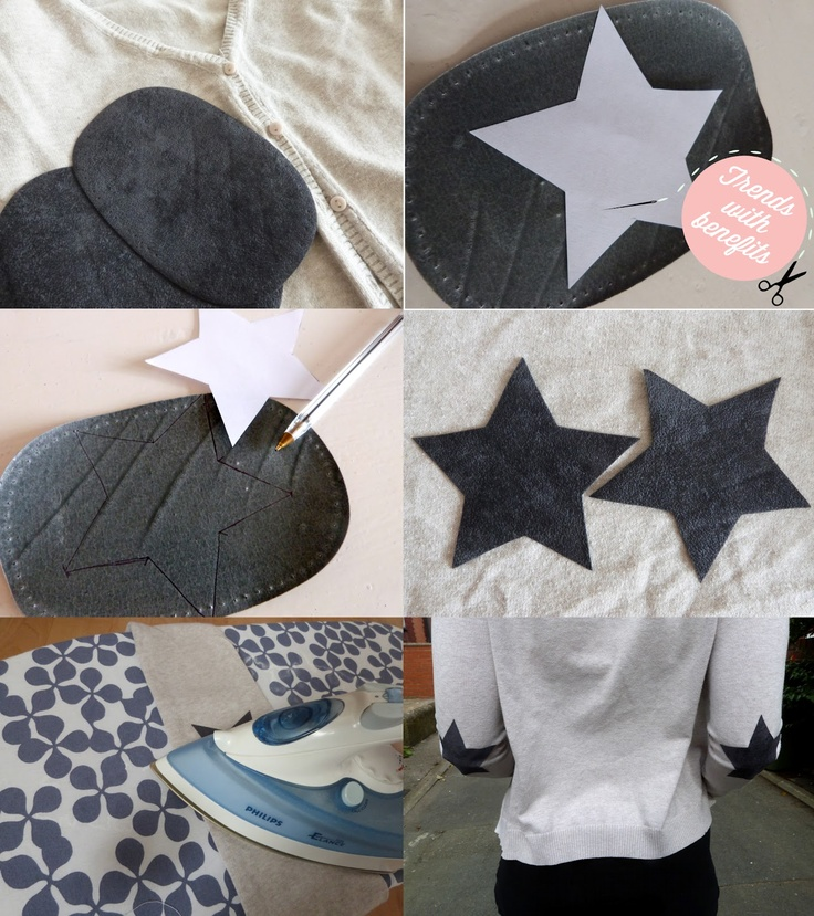 Trends With Benefits: DIY: Elbow Patches