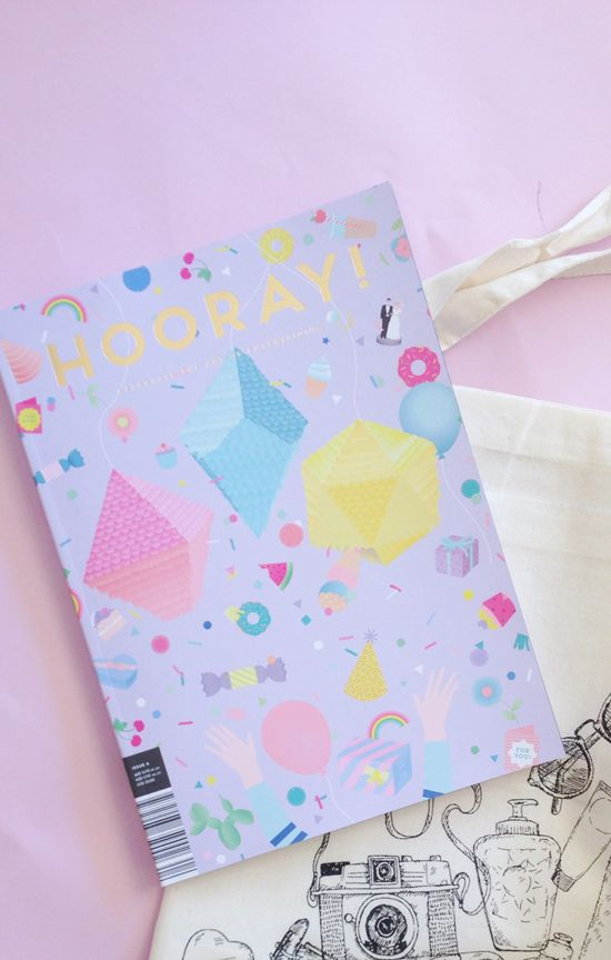 Polkadot Prints: HOORAY MAGAZINE + HAPPY WEEKEND   Happy