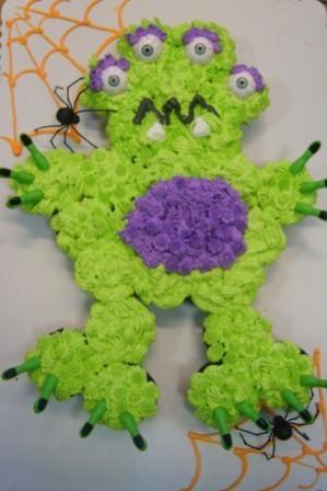 "Cupcake ""cake""   Monster / Morgan, Paisley would love this!"