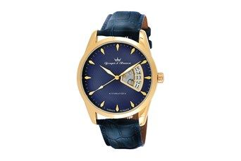 Relógio automático - Azul e dourado