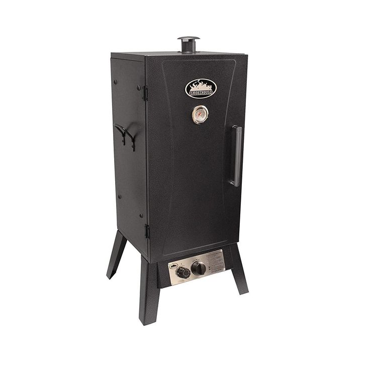 Smokehouse Products Outdoor Gas Smoker-Cooker - Silver