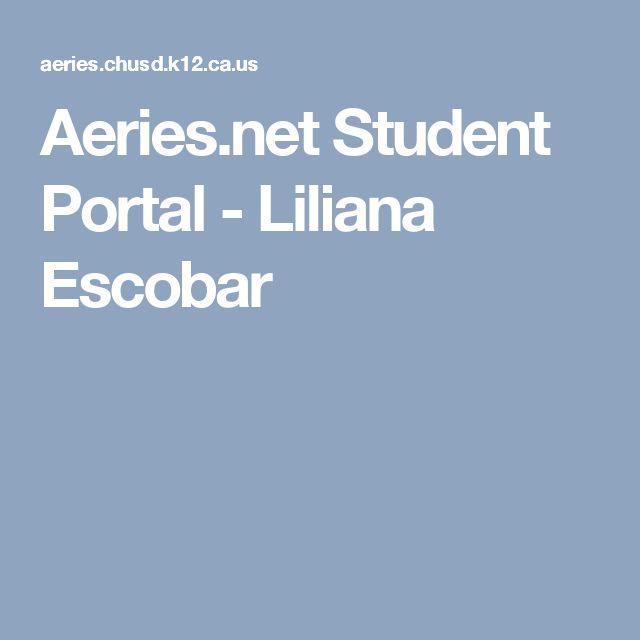Aeries.net Student Portal - Liliana Escobar