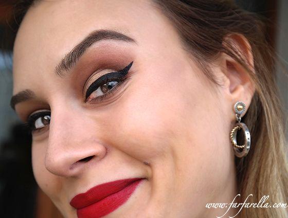 Kirmizi ruj ile Yilbasi Gecesi Makyaji – New Years Eve Makeup with Red Lips
