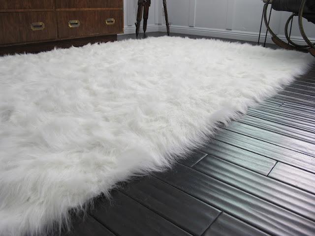 Best Master Bathroom Rugs Images On Pinterest Master - Cowhide and sheepskin rugs bathroom