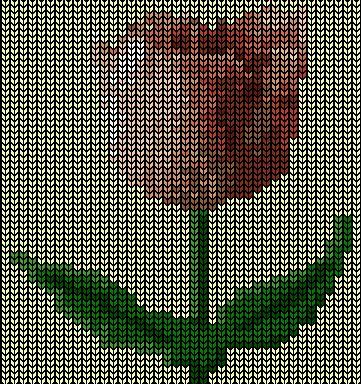 Тюльпан Вязание Диаграмма