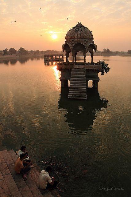 Sound of the Gadisar Lake