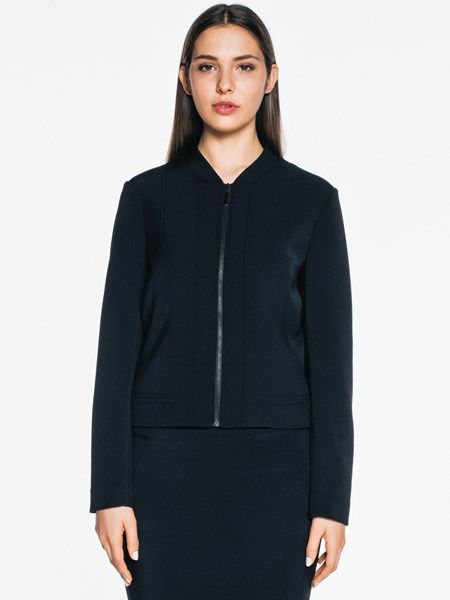 This jacket is made from a bi-stretch twill weave imported from Europe. It features…