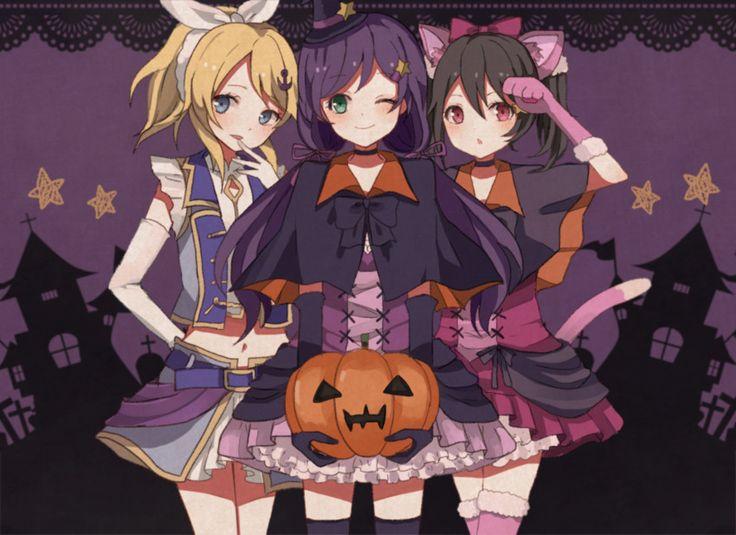 anime halloween girl - photo #7