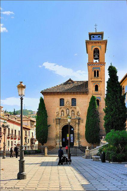 Granada : Iglesia de San Gil y Santa Ana
