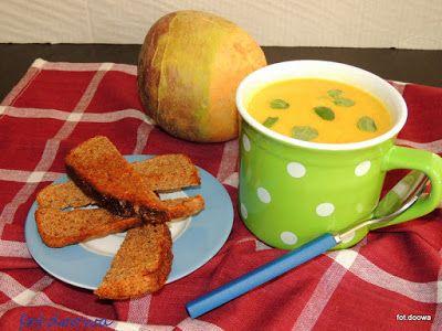 Moje Małe Czarowanie: Zupa krem z brukwi