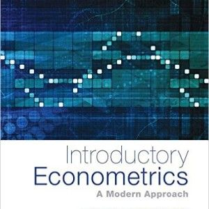 INTRODUCTORY ECONOMETRICS : A MODERN APPROACH de Jeffrey Wooldridge. Contents: The nature of econometrics and economic data. Part I: REGRESSION ANALYSIS WITH CROSS-SECTIONAL DATA : The simple regression model. Multiple regression analysis: Estimation. Multiple regression analysis: Inference. Multiple regression analysis: OLS asymptotics. Multiple regression analysis: Further issue... Part II: REGRESSION ANALYSIS WITH TIME SERIES DATA. Part III: ADVANCED TOPICS. Cote : 9-4941-6 WOO
