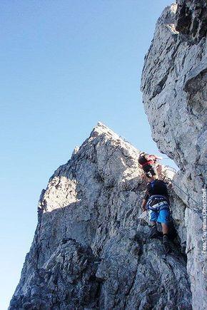 Klettersteige für Anfänger: 5 Touren für Spaß & Genuss