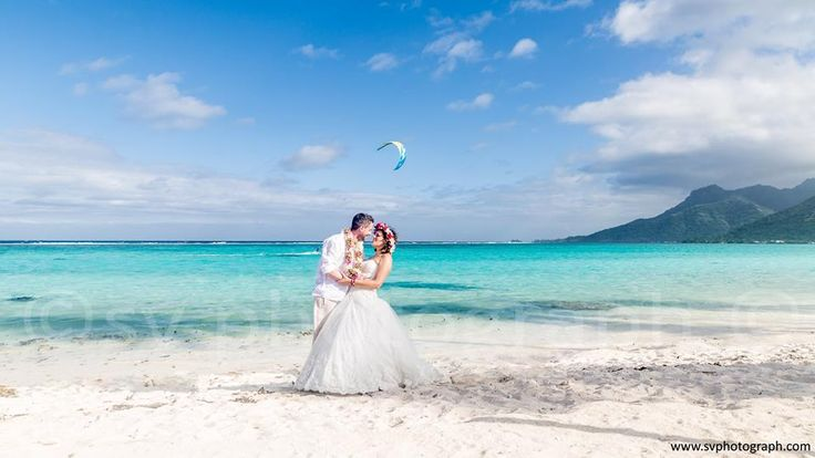 Destination wedding and honeymoon Photographer in Moorea, Bora Bora and Tahiti. A beautiful trash the dress photo shoot in a stunning turquoise beach of Moorea. http://www.svphotograph.com #svphotograph #mooreaphotographer #boraboraphotographer #borabora #moorea #islands #pacific #trashthedress #frenchpolynesia #turquoise #lagoon #trashthedressbeach #weddingideas #honeymoon #honeymoonideas #paradiseisland #skysurf #tropicalisland #destinationweddingphotographer #adventure
