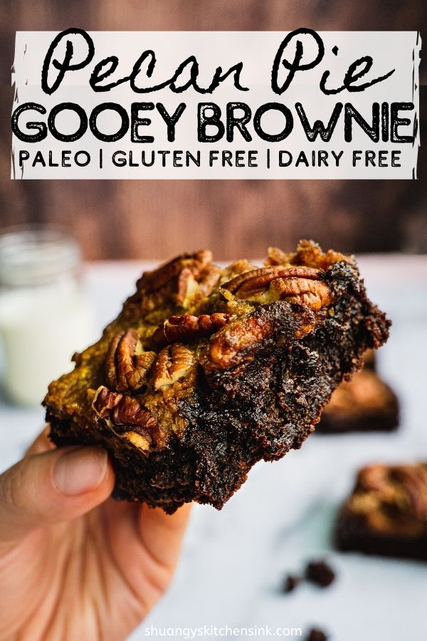 The gooey paleo brownie paired with pecan pie makes the best Thanksgiving Dessert. This holiday dessert recipe is paleo,…