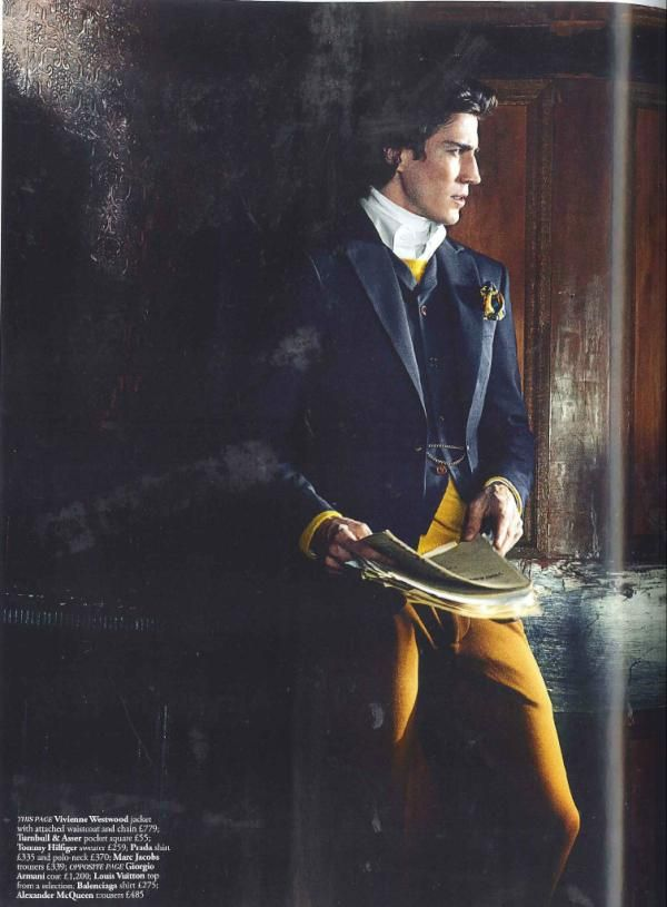 Vivienne Westwood Man Label seen in the July/August issue of Harrods Magazine