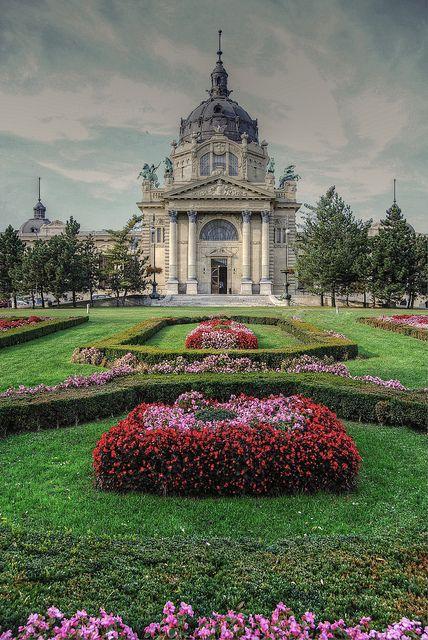 Szechenyi Thermal Baths - Budapest, Hungary