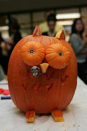 Tootsie Pop Pumpkin Owl