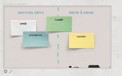 Scrumblr ou le brainstorming collaboratif