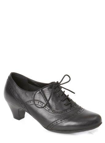 bhs black tlc wide fit lace trouser shoe  shoes shoe