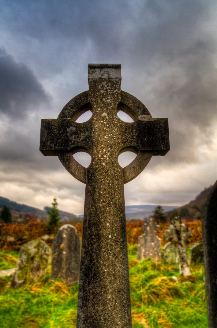 Glendalough Cemetery - Co. Wicklow, Ireland