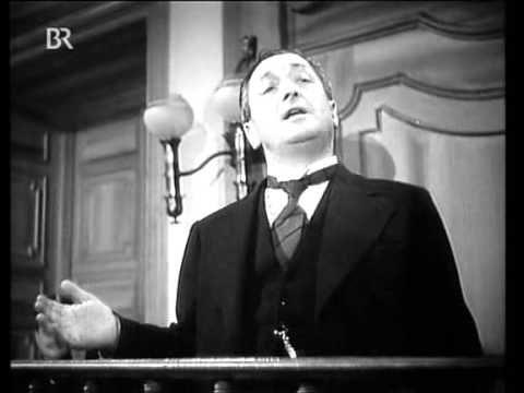 "Hans Moser in dem Film ""Das Ekel"" (Quelle: YouTube)"