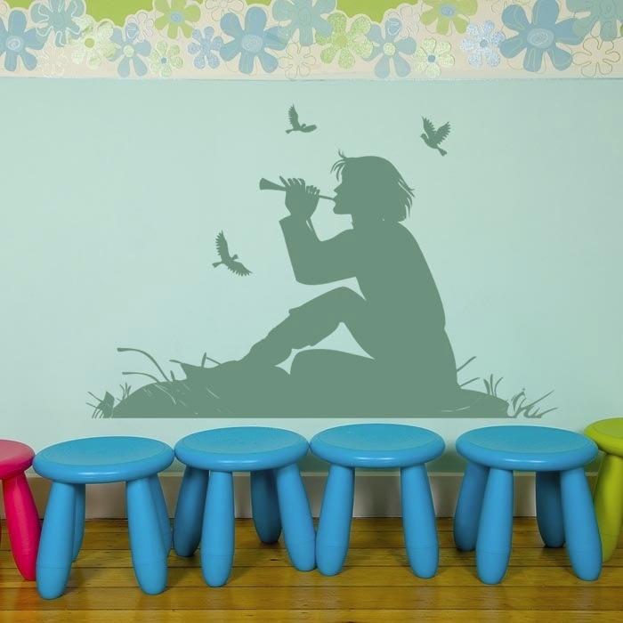 Great Wandtattoo Peter Pan