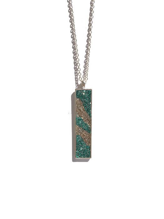 """Give your outfit that extra touch of """"WOW"""" with this trendy synthetic druzy style pendant necklace from Baubles by Bailey! Glittering, sparkly, and unique."""