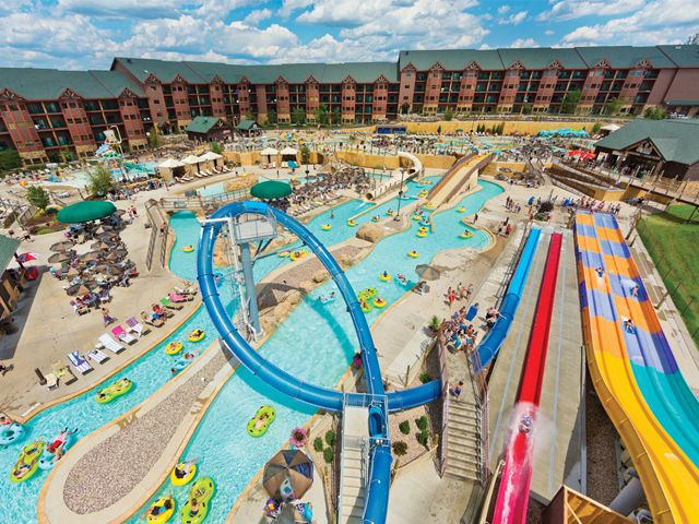 Glacier Canyon Lodge at the Wilderness- Wisconsin Dells- great place to go with toddlers and kids