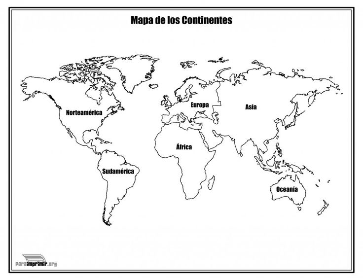 Best 25 Mapa del mundo continentes ideas on Pinterest  Mapa del