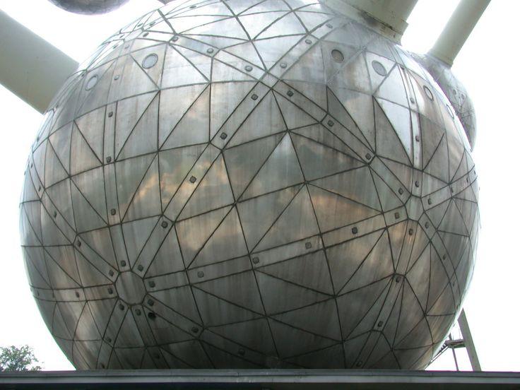 Атомиум. Брюссель, Бельгия