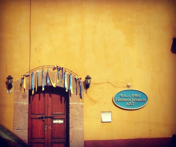 Puerta en San Miguel de Allende.