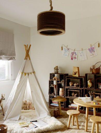 Pastele w pokoju dziecka fot.: Jute Interior Design