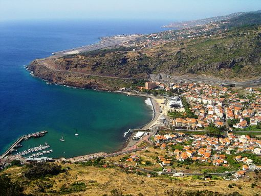 Machico Beach is one of the Madeira Beaches