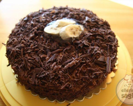 muzlu çikolatalı pasta