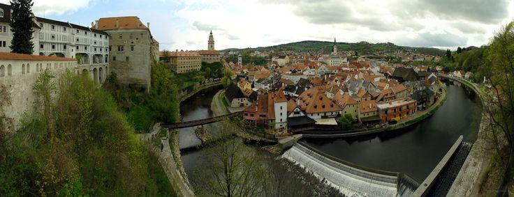 Panorama města Český Krumlov