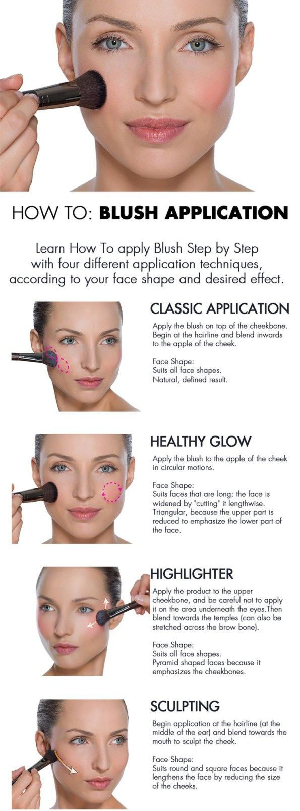 #apply blush#
