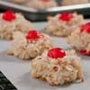 """Christmas just isn't Christmas without hearing the carol """"Rudolph the Red-Nosed Reindeer"""" at least once, if not 100 times. And a cookie exchange just wouldn't be a cookie exchange without these tasty Rudolph's Red-Nose Macaroons."""