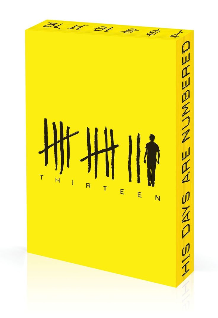 Thirteen by Tom Hoyle. Award: Wood Pencil / Book Design / Book Front Covers…