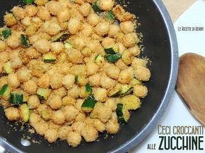 I ceci croccanti alle zucchine sono un'idea gustosa per un secondo piatto o un contorno leggeri e sani, ricco di vitamine e velocissimo da preparare con..
